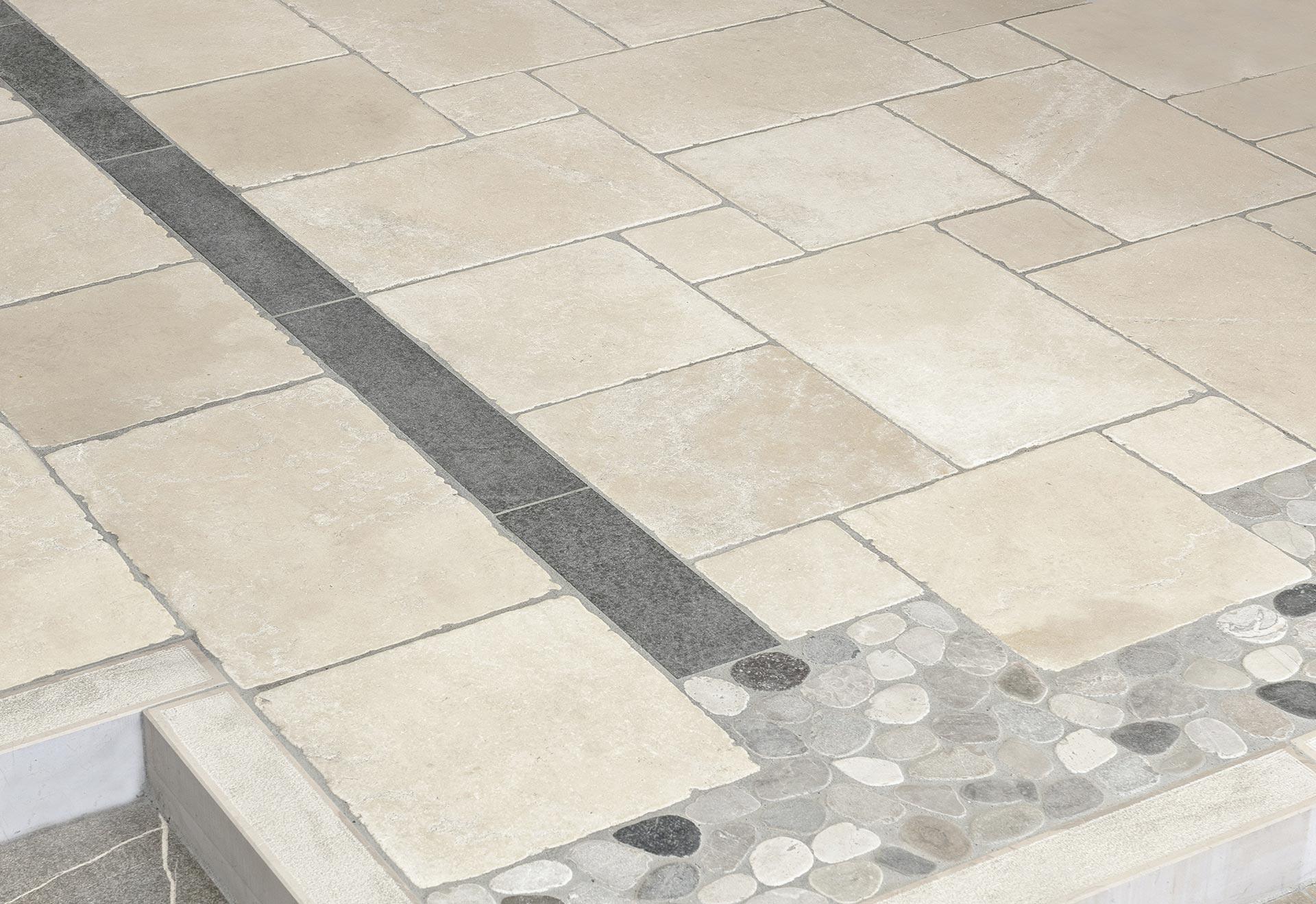 Pavimento In Pietra Di Trani : Abitare pavimenti pietra di trani