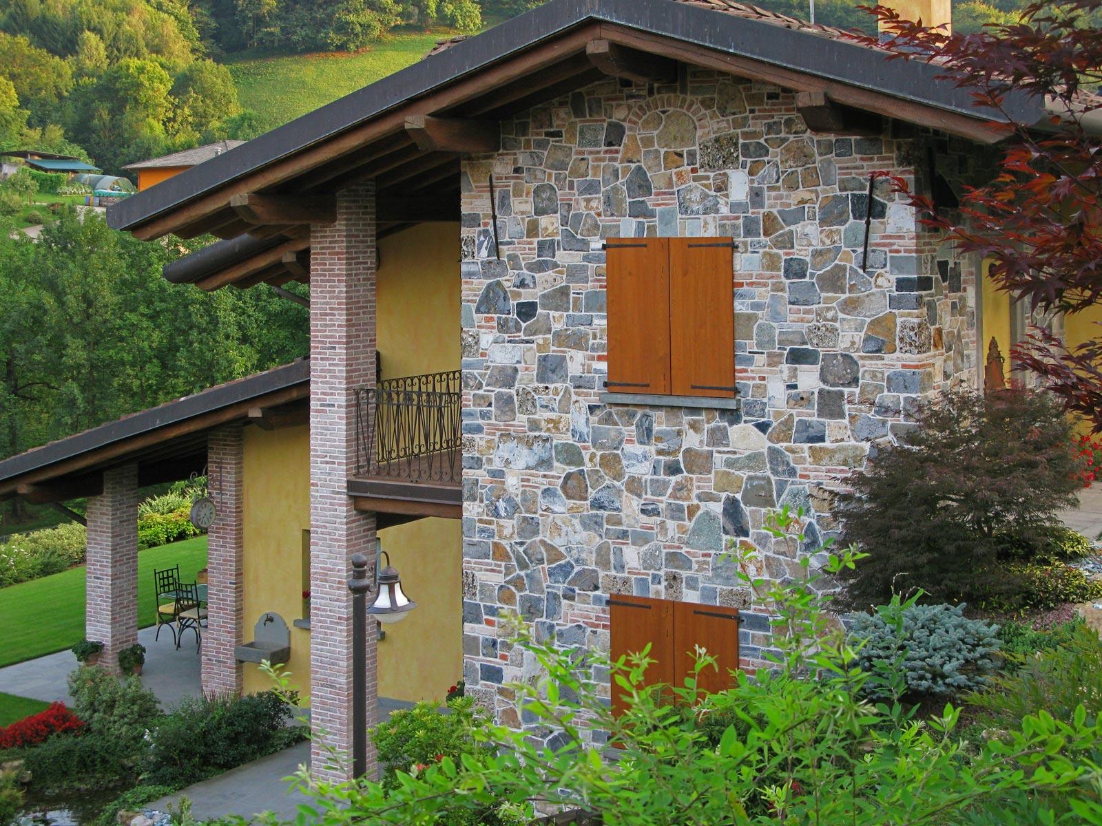17 - Disegnare con la pietra, abitare rivestimenti, , taverna con camino, abitazioni, rivestimenti a basso spessore